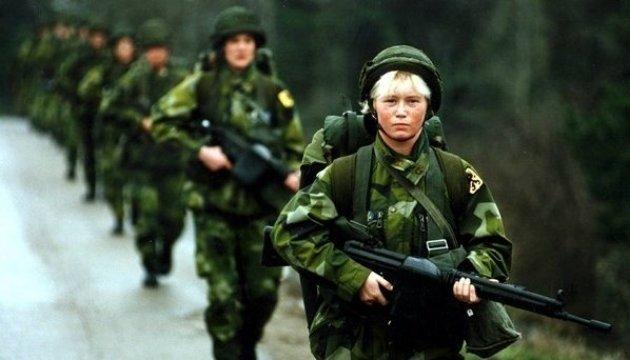 Швеція почала найбільші військові навчання одночасно з Росією