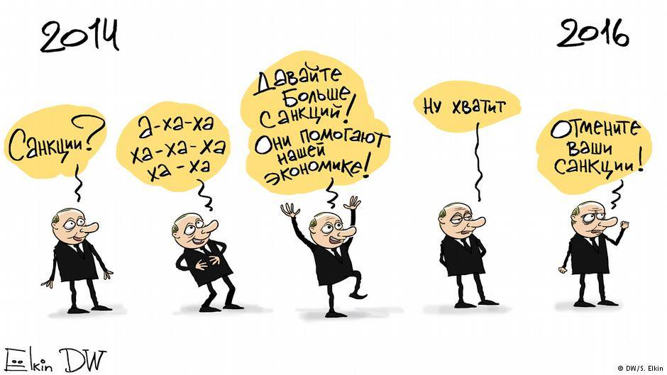 Карикатура Sergey Elkin