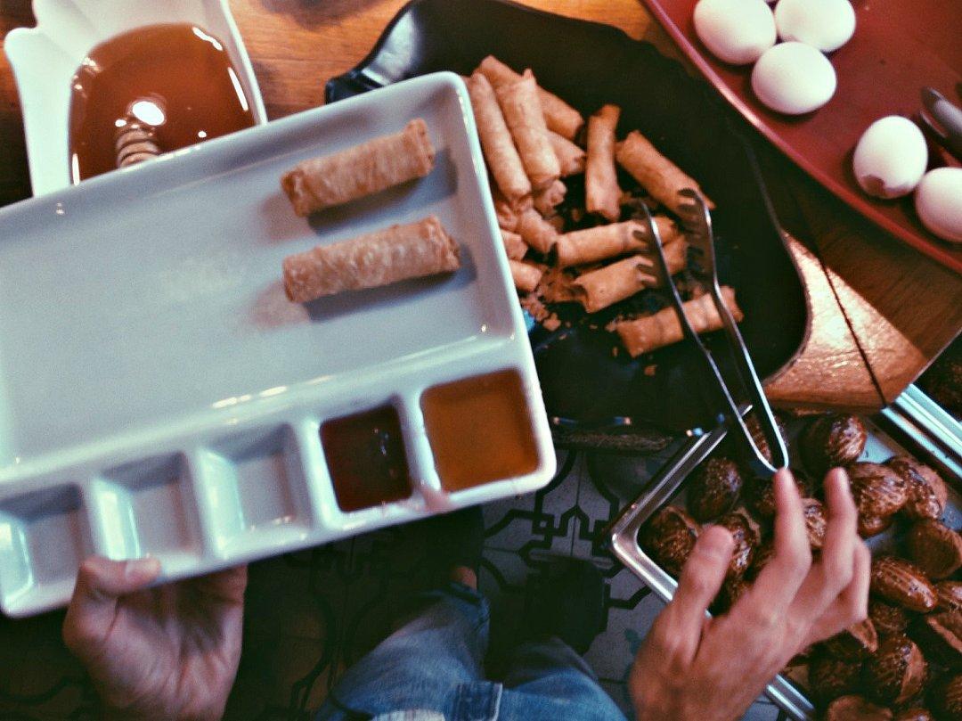 Завтрак в одном из кафе