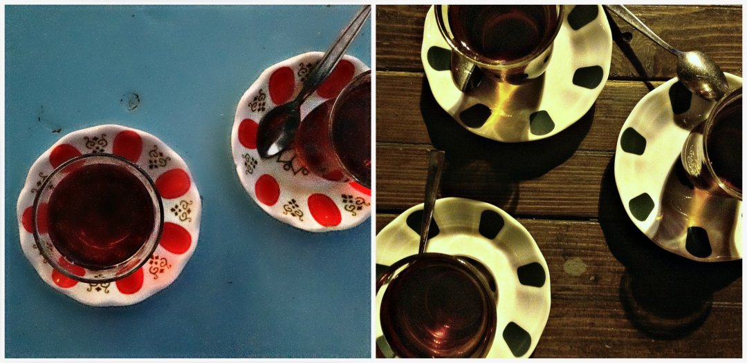 Турецкий чай за обедом. Турецкий чай за ужином