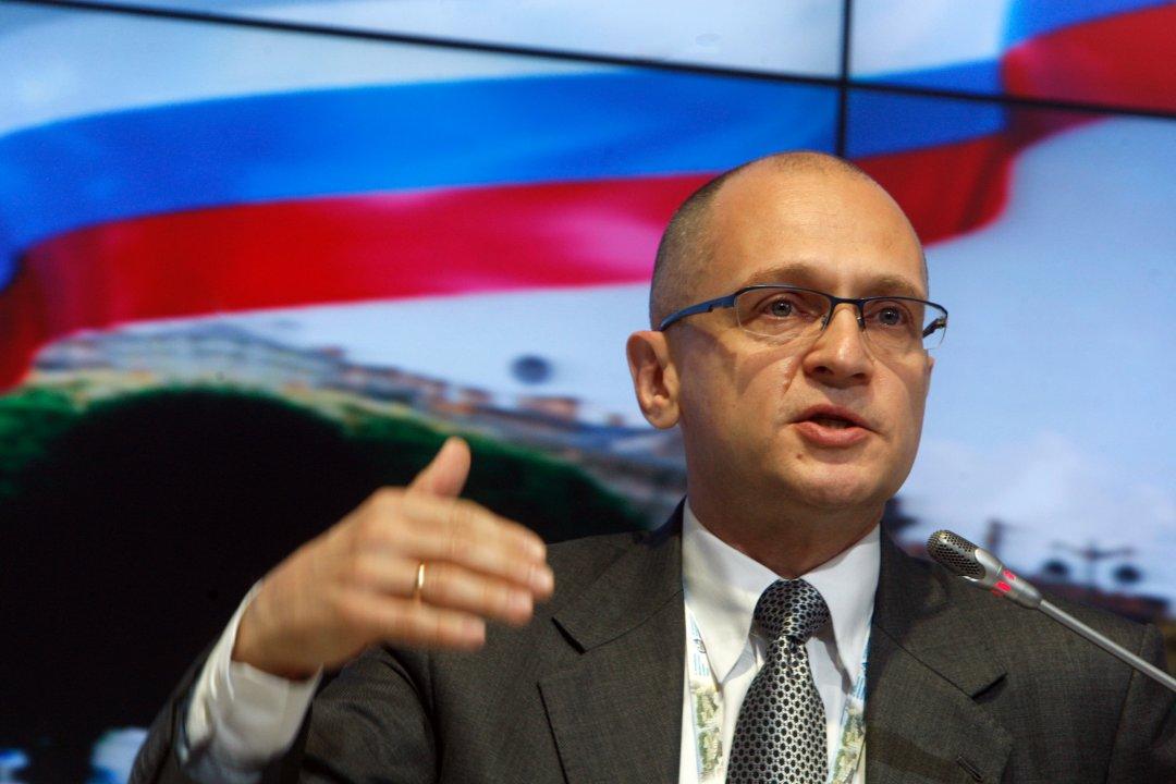 Заступник голови адміністрації президента Росії Сергій Кірієнко