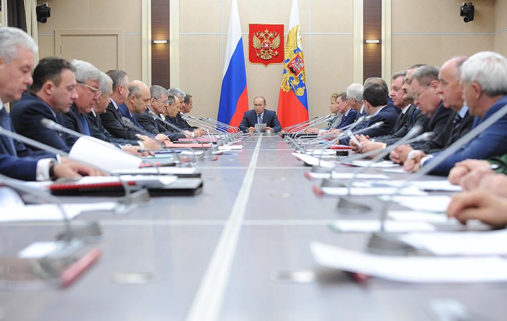 Засідання Ради безпеки РФ