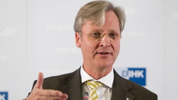 На фото: Генеральний директор Асоціації торгово-промислових палат Німеччини (DIHK) Мартін Ванслебен