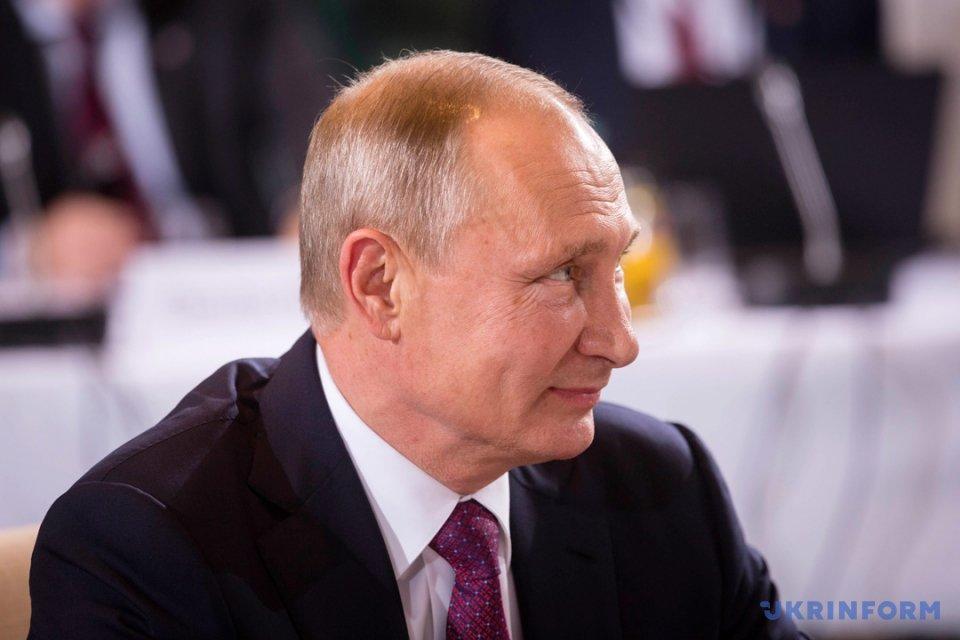 На фото: Володимир Путін - президент РФ