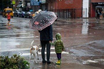 Украинцам обещают в течение дня дожди и грозы