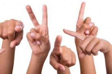 Aujourd'hui marque la Journée internationale des langues des signes