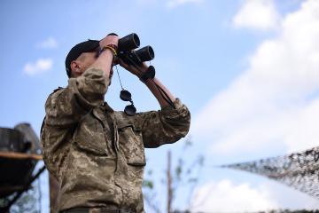 Donbass: Besatzer greifen Regierungseinheiten nahe Piwdenne, 120-mm-Mörser im Einsatz