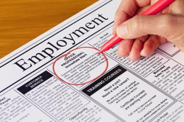 More than 600,000 Ukrainians found jobs through employment centers in 2020