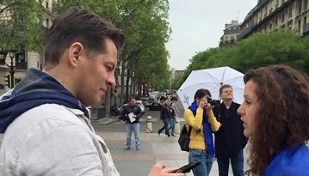 У Парижі українці вийдуть на маніфестацію за звільнення Сущенка