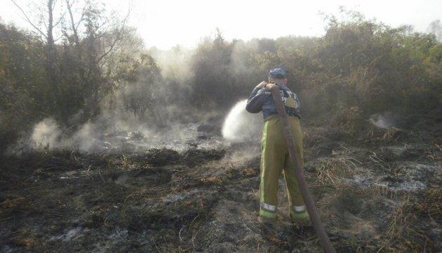 На Черкащині оголосили НС через горіння торфу