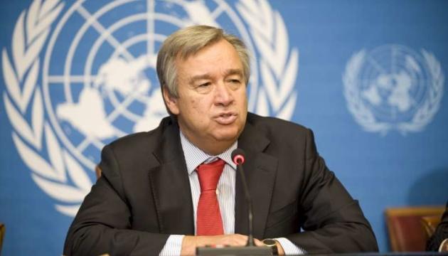 Генсек ООН закликає зупинити