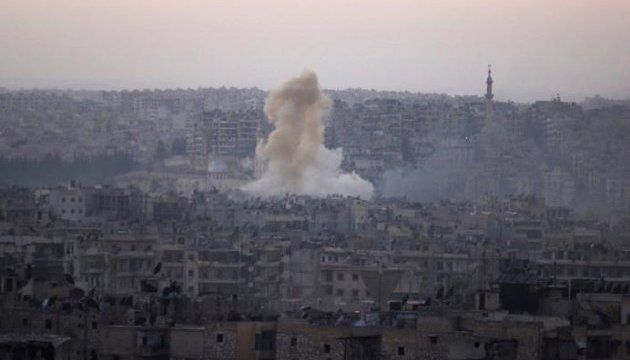 В Сирии в тюрьму попала авиабомба