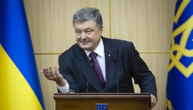 President: Road construction is priority for Ukrainian authorities