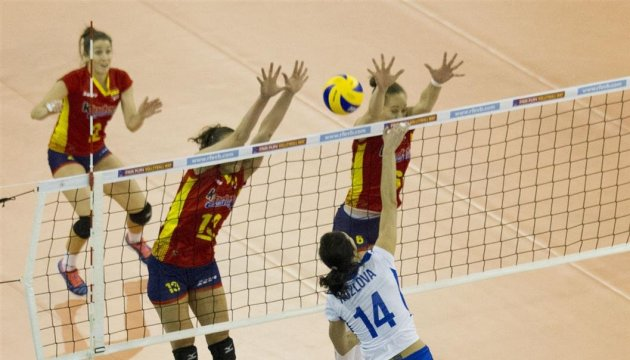 乌克兰女排挺进2017欧洲锦标赛