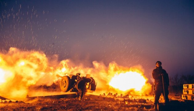 Militants launch 42 attacks on Ukrainian troops in Donbas