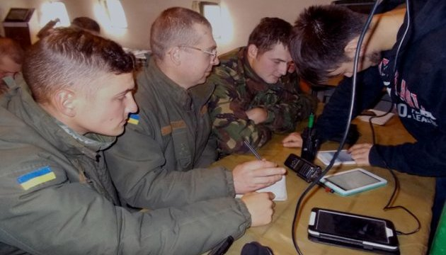 Артилеристи Нацгвардії вчаться управляти вогнем за програмами «Армія SOS»