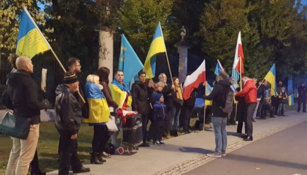 'Stop Putin's War in Ukraine' action held in Warsaw. Photos