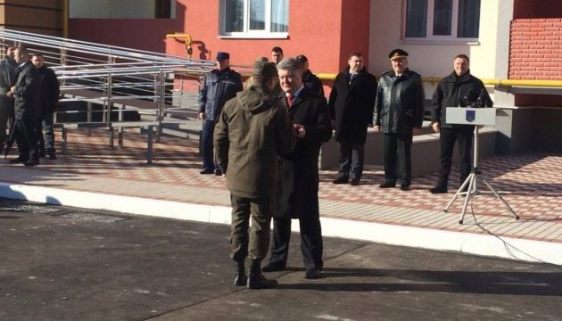 В АТО загинули вже 190 бійців Нацгвардії - Порошенко