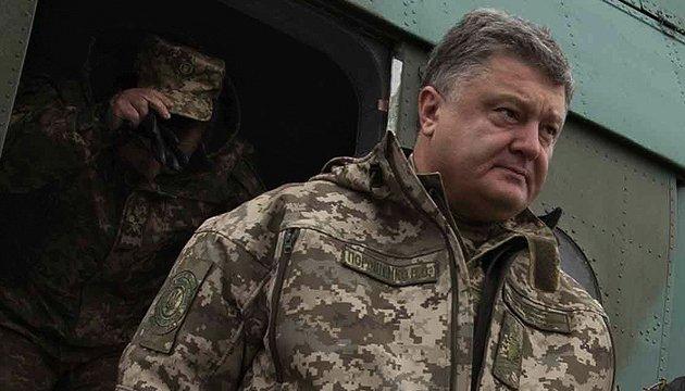 President Poroshenko: 193 National Guard soldiers killed in ATO in eastern Ukraine