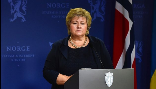 Prime Minister of Norway urges Russia to fulfill Minsk agreements