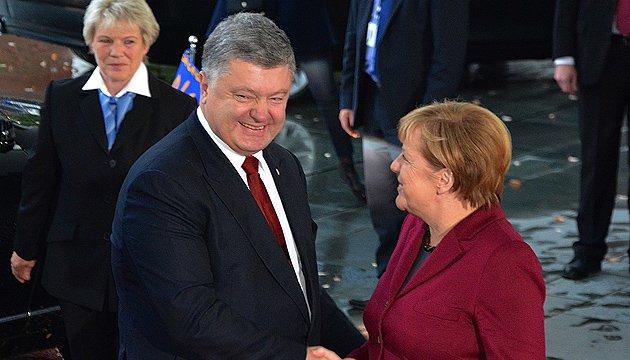 Меркель про мінський процес: Поки кроки - невидимі