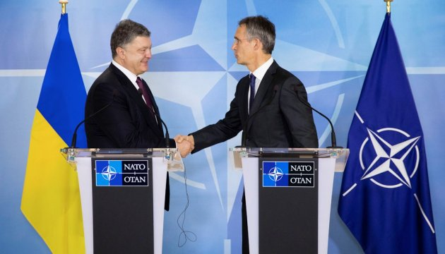 President briefs NATO secretary general on situation in Donbas