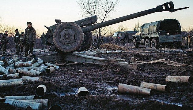 Militants launch 54 attacks on Ukrainian troops in Donbas in last day