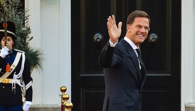 Нидерланды поддержат безвиз для Украины - Рютте