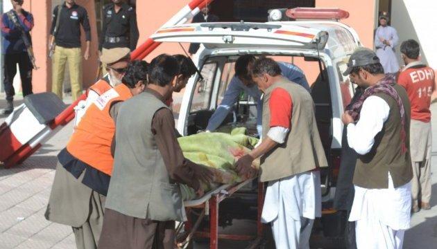 Кількість жертв теракту в Пакистані сягнула 80