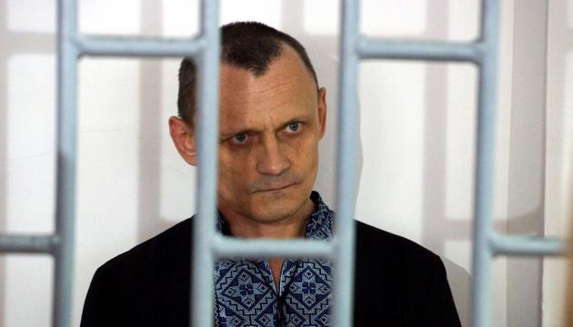 La Commissaire russe aux droits de l'Homme a rendu visite à Mykola Karpyuk