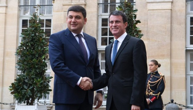PM Groysman: Ukraine, France to resume work of joint intergovernmental commission in 2017