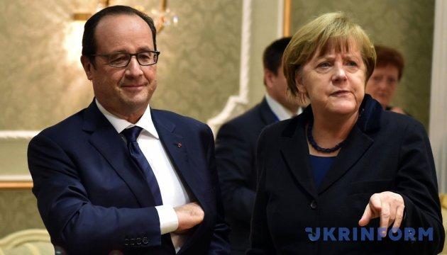 Форум в Давосе пройдет без Меркель и Олланда