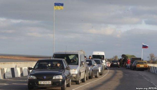 Російські служби в Криму влаштували на