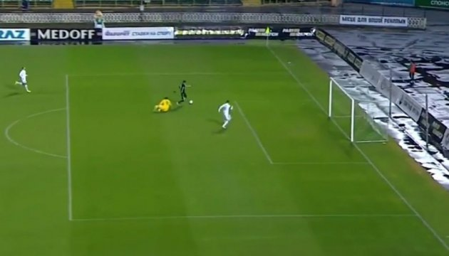 Fastest goal in Ukrainian football ever. Video