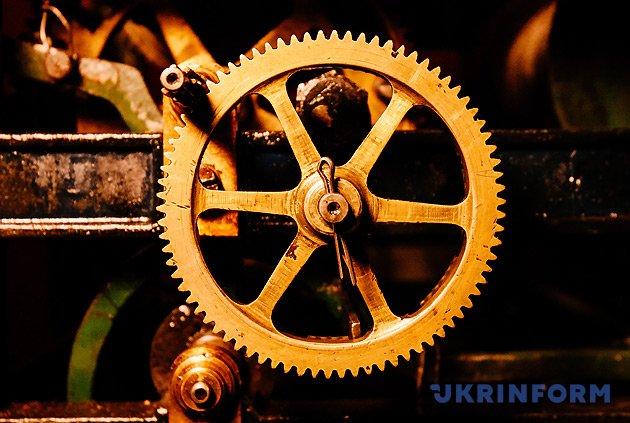 Механізм годинника Мукачівської міської ратуші