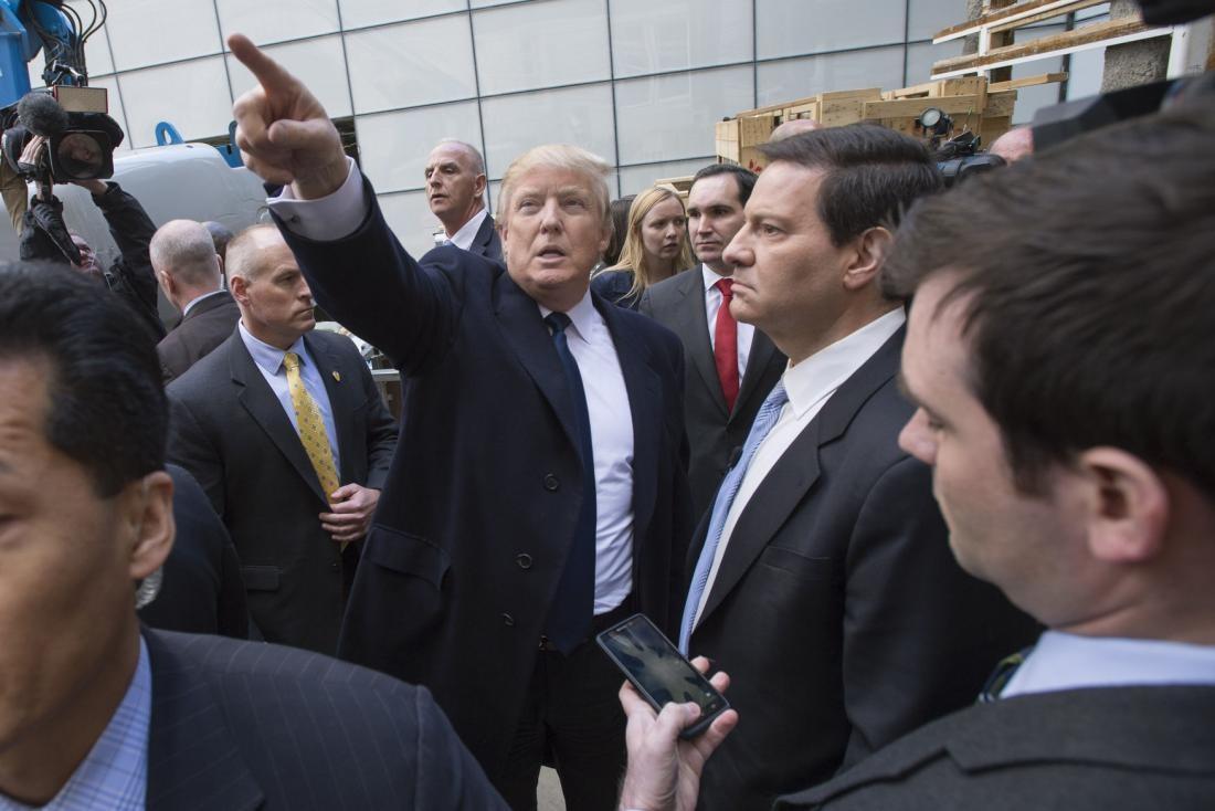 Дональд Трамп і Пол Манафорт Фото з сайту trust.ua