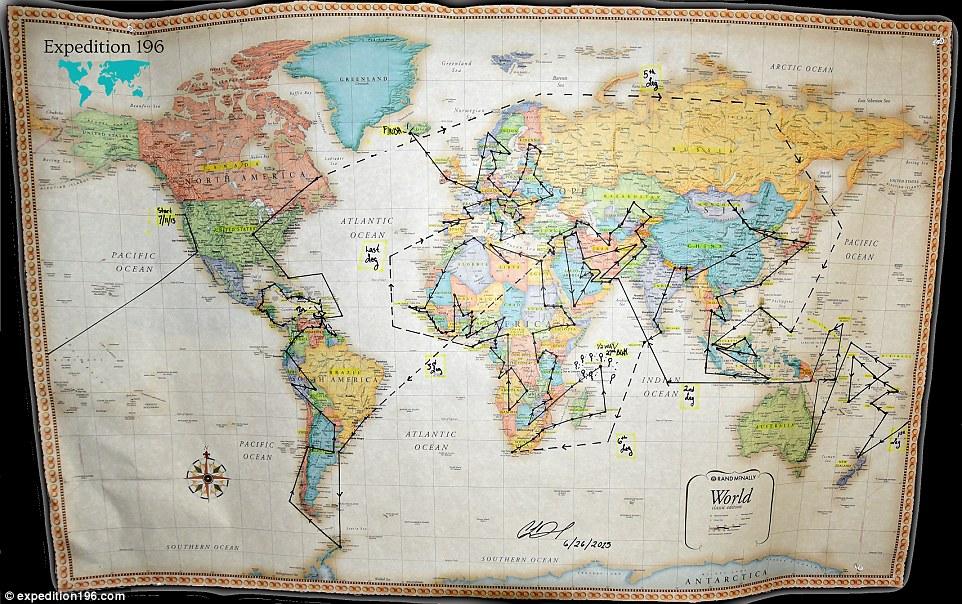 Карта мандрівниці
