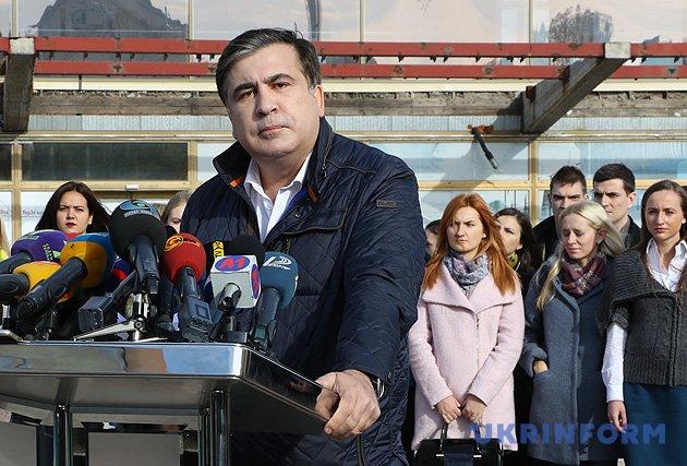Міхеіл Саакашвілі, екс-глава Одеської облдержадміністрації