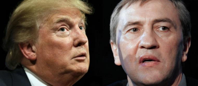 На фото: Дональд Трамп і Леонід Черновецький
