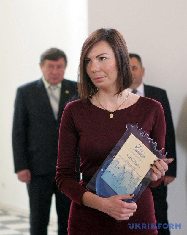 Заступник міського голови Теребовлі Людмила Колісник
