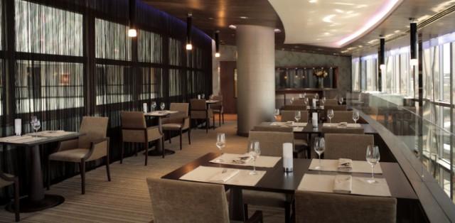 Ресторан 5-зіркового готелю «Хаятт» у Києві