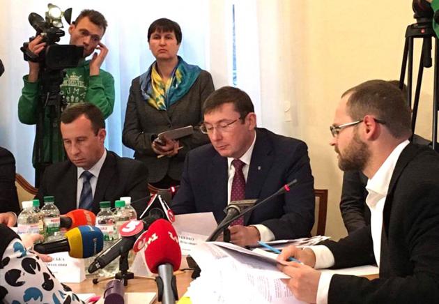 Юрій Луценко / Фото: FB Лариси Сарган