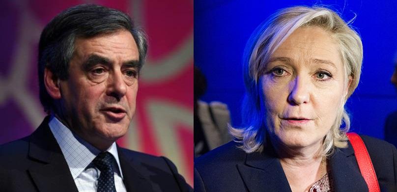 Франсуа Фійон і Жан-Марі Ле Пен