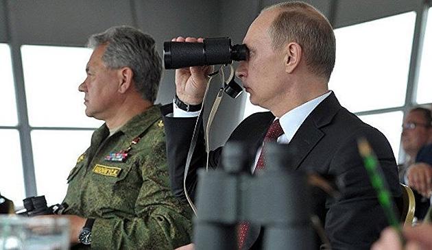 Шойгу, Путін / Фото: fr.sputniknews.com