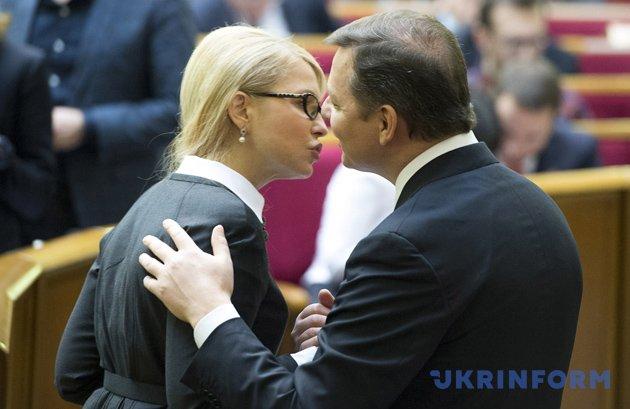 Юлія Тимошенко, Олег Ляшко