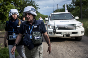 OSCE records fewer ceasefire violations in Donbas