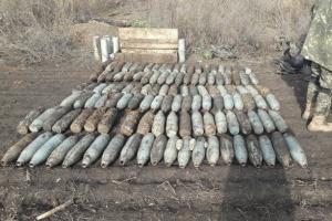 Minenräumung im Donbass: Innerhalb einer Woche fast 600 explosive Munitionen geräumt