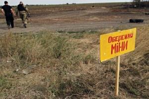 На сході України виявили 300 мінних полів