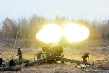 Donbass : 7 attaques ciblées, notamment au moyen de mortiers interdits
