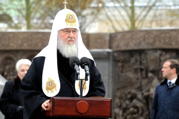 Patriarch of Russian Orthodox Church Kirill congratulates Zelensky on election victory